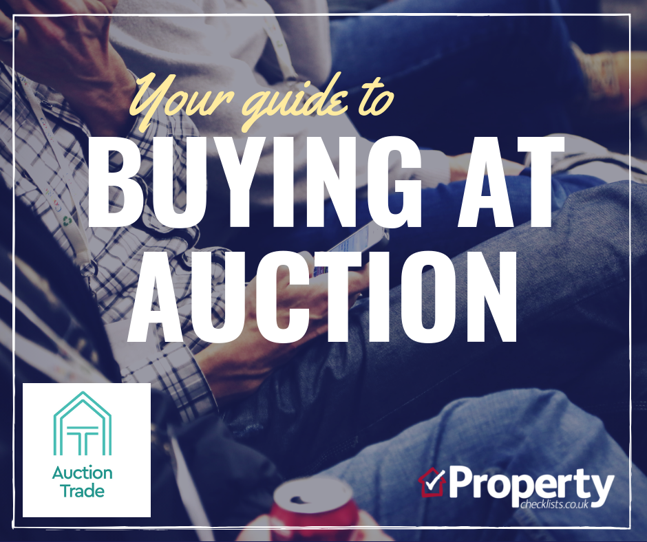 Your guide to buying at auction checklist