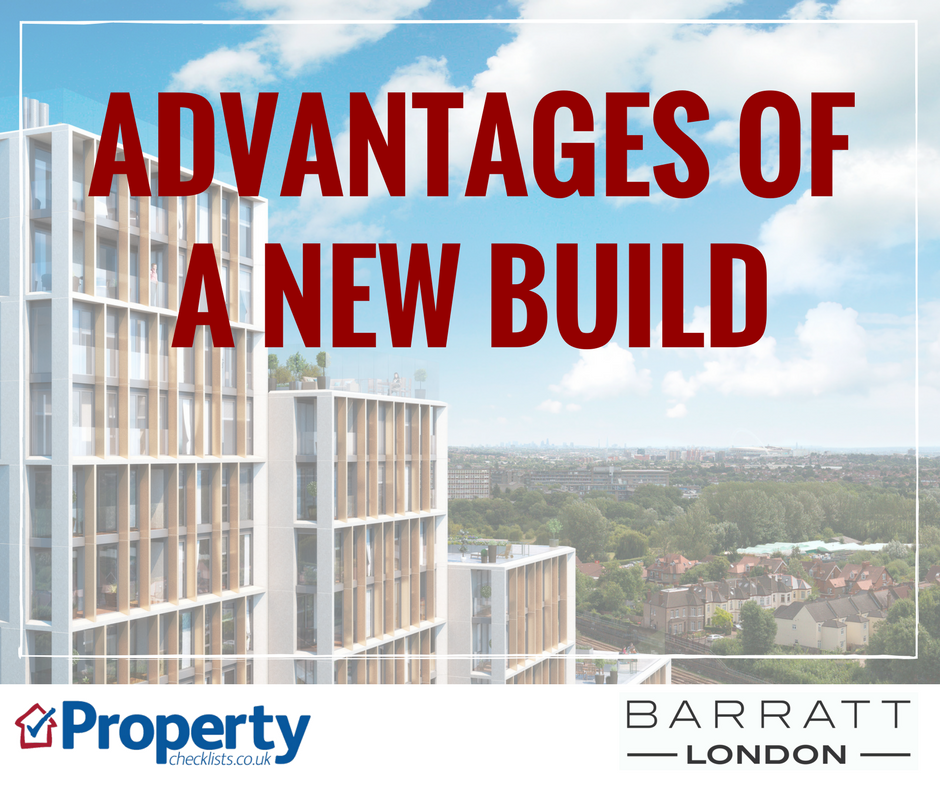 Advantages of a new build property checklist