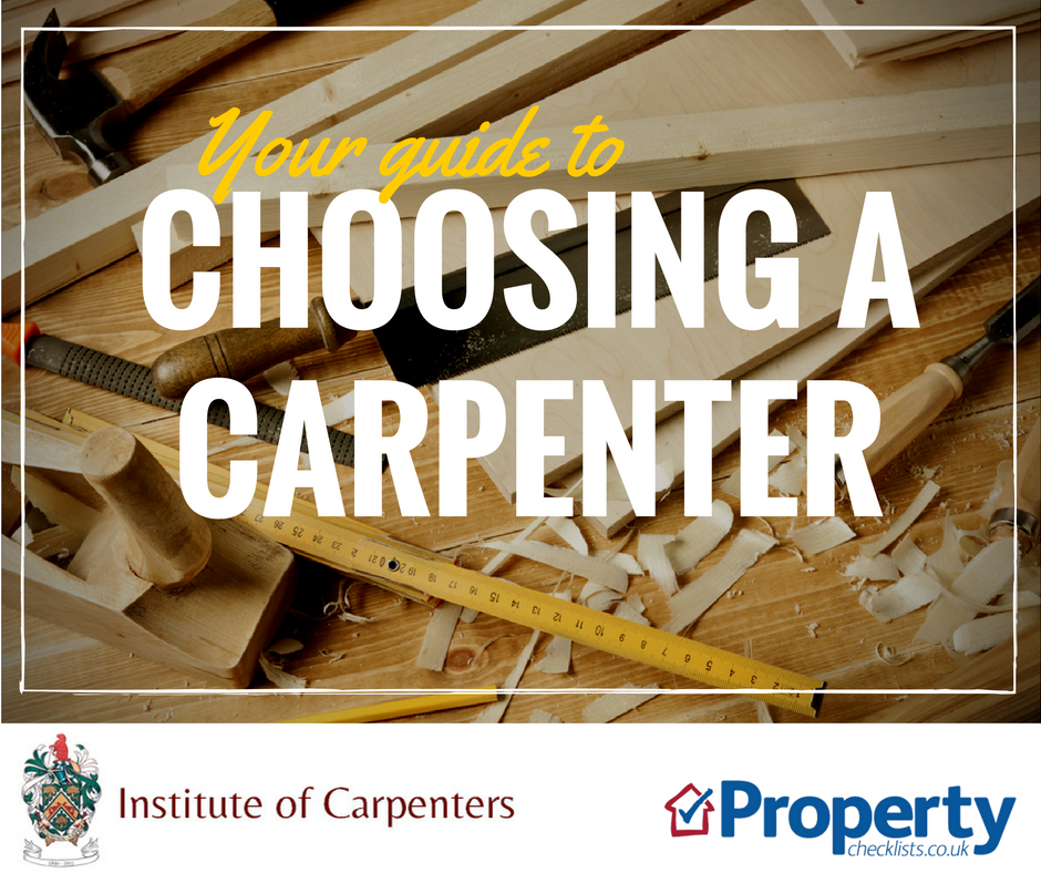 Choosing a carpenter checklist