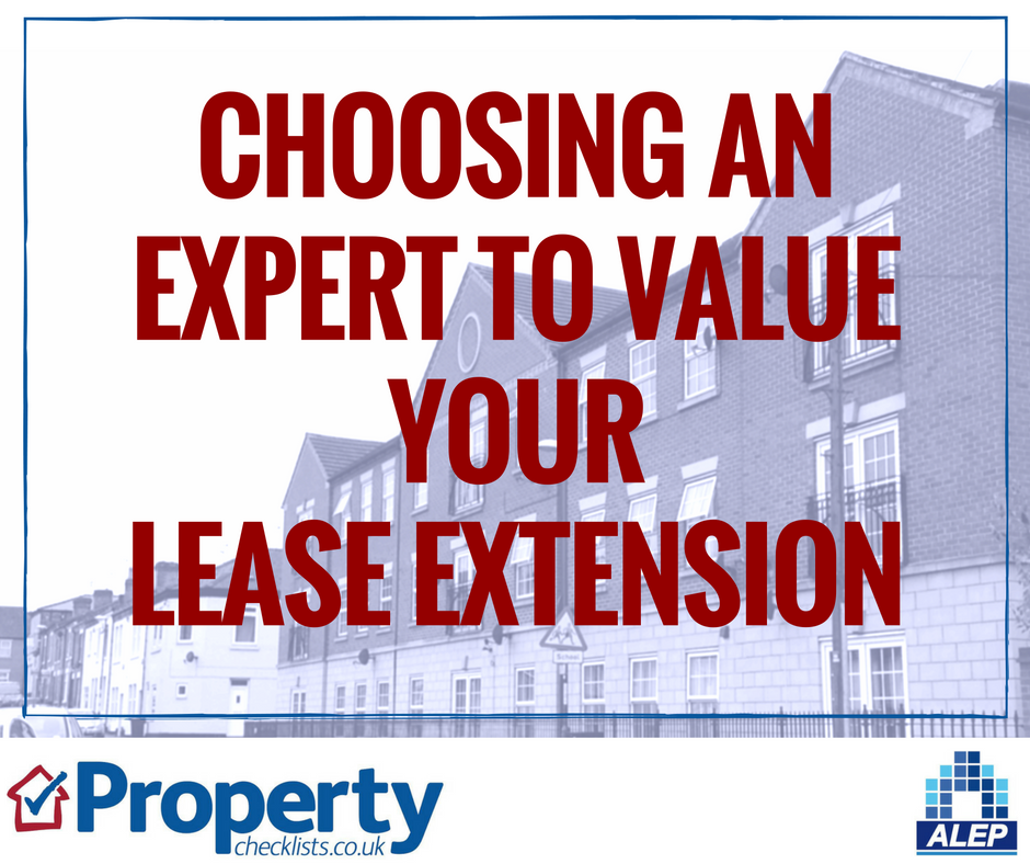 Choosing an expert to value your lease extension checklist