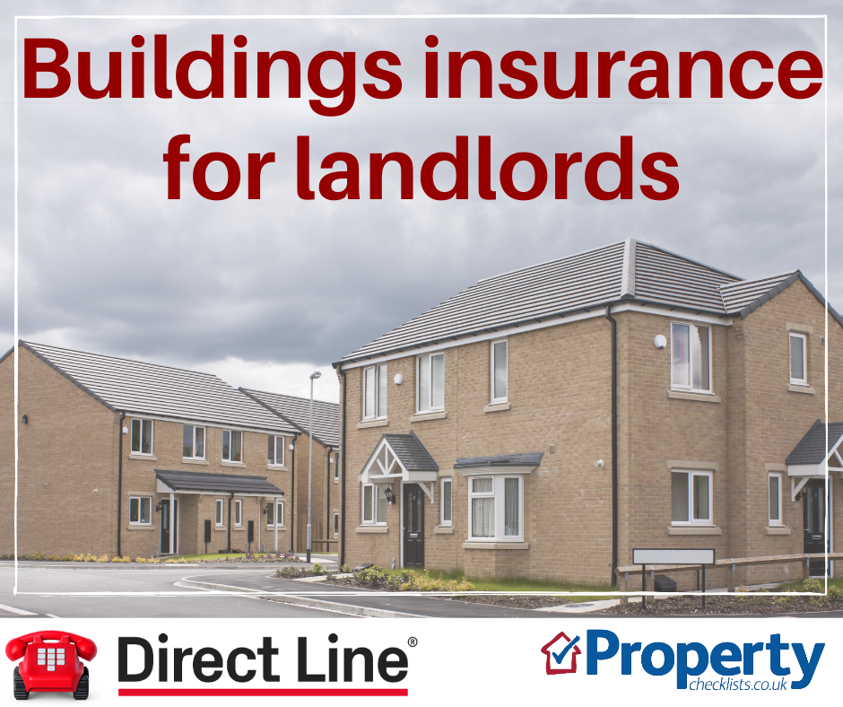 Buildings insurance for landlords checklist