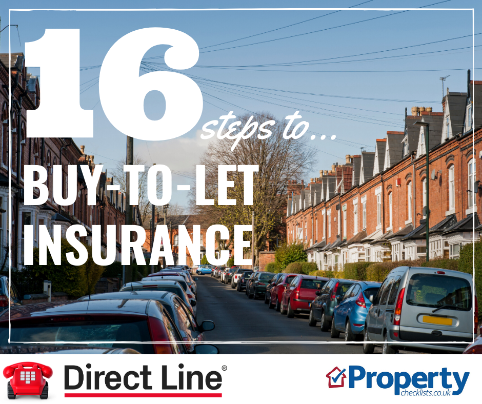 Buy to let insurance checklist