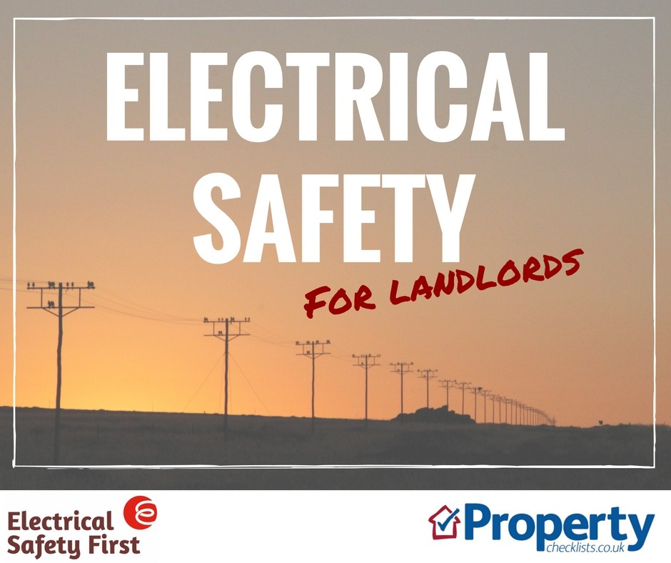 electrical safety checklist for landlords