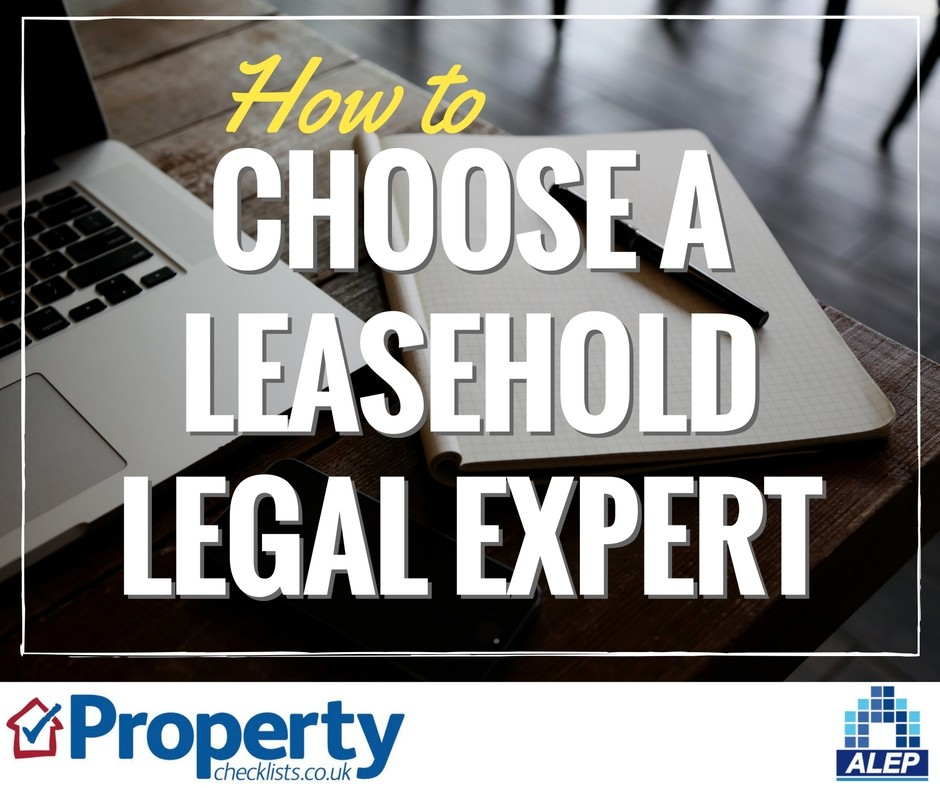 How to choose a leasehold legal expert