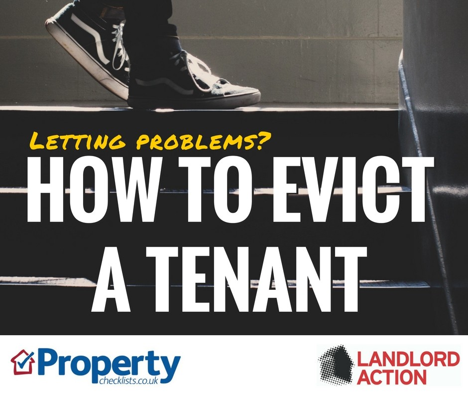 How to evict a tenant checklist