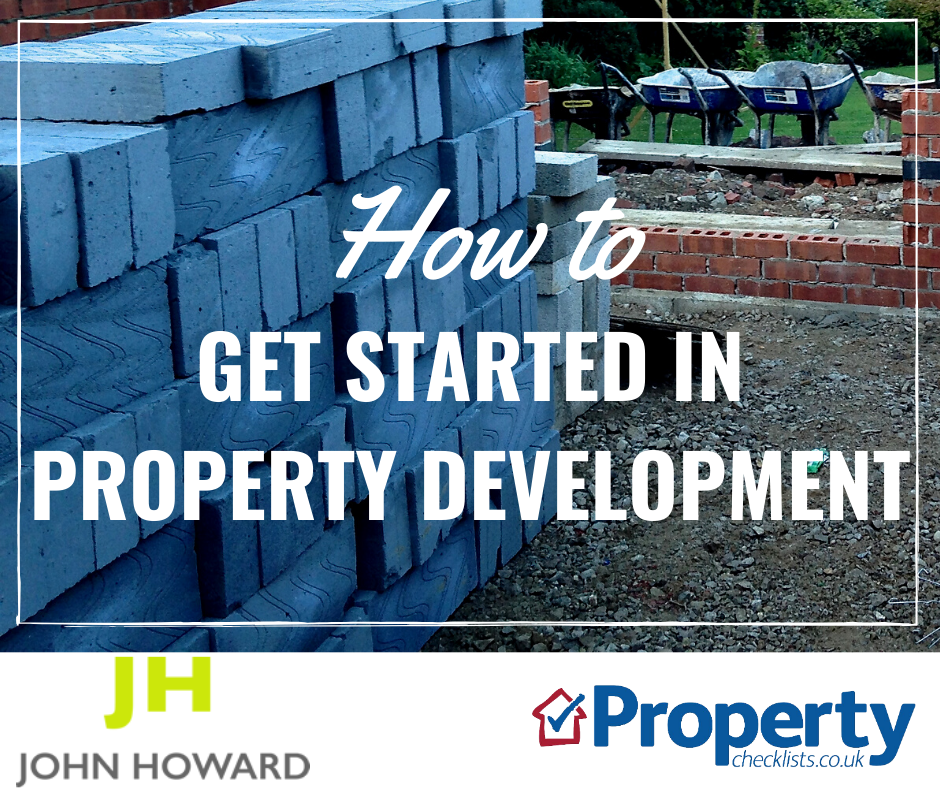How to get started in property development checklist
