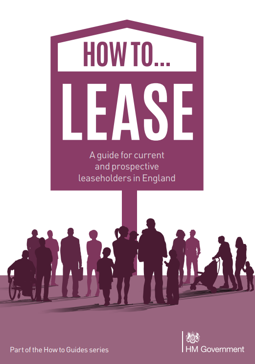 How to lease - A guide for current and prospective leaseholders in England