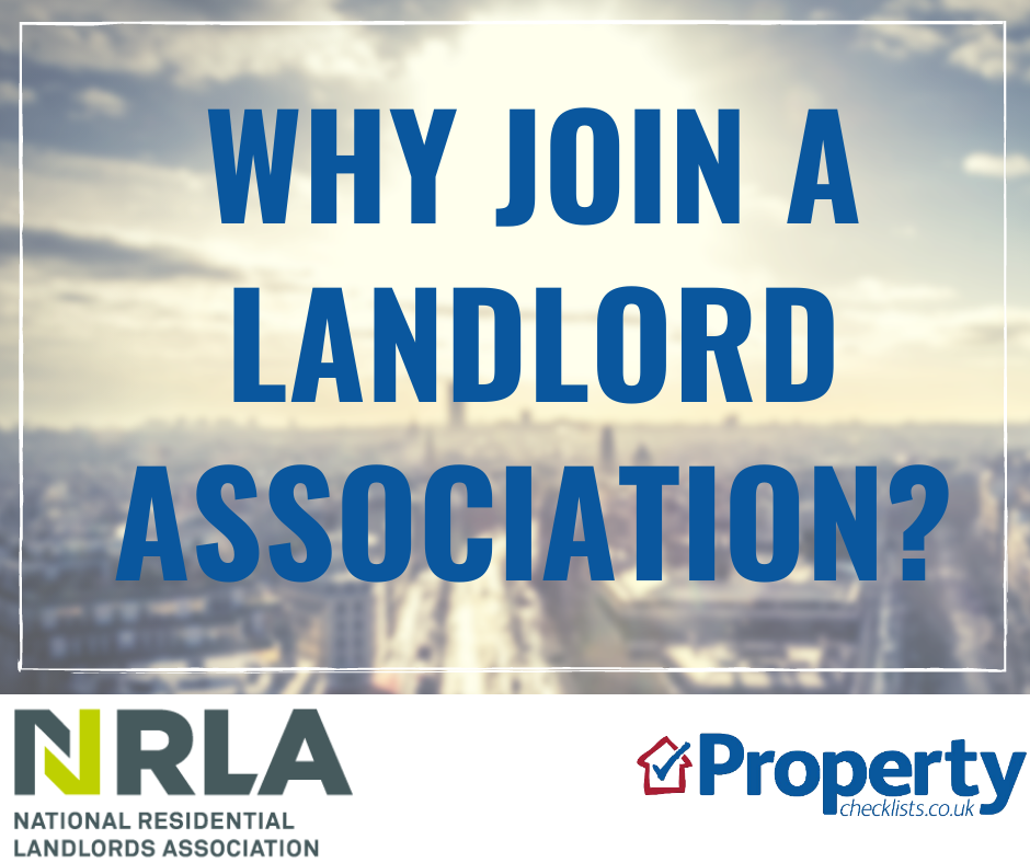 Why join a landlord association checklist