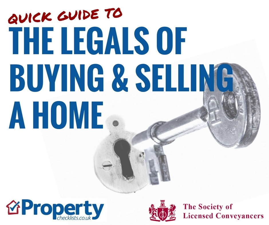The legals of buying and selling a home