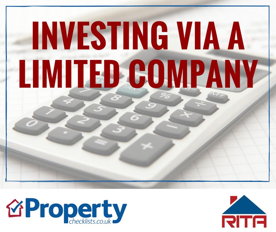 Investing via a limited company