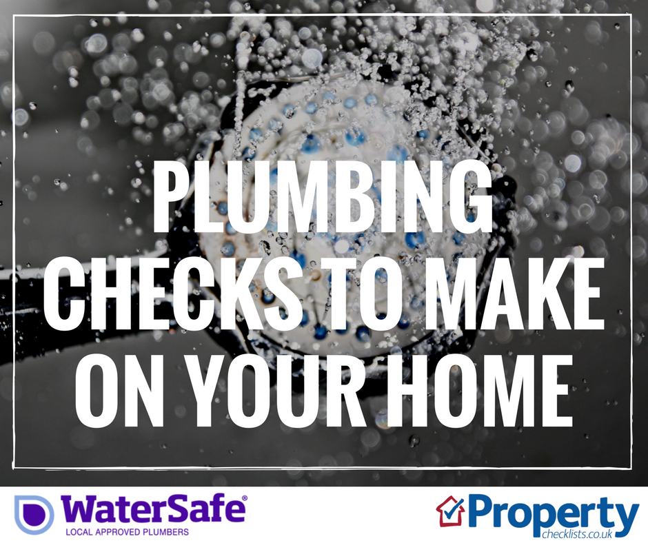 Plumbing checks to make on your property