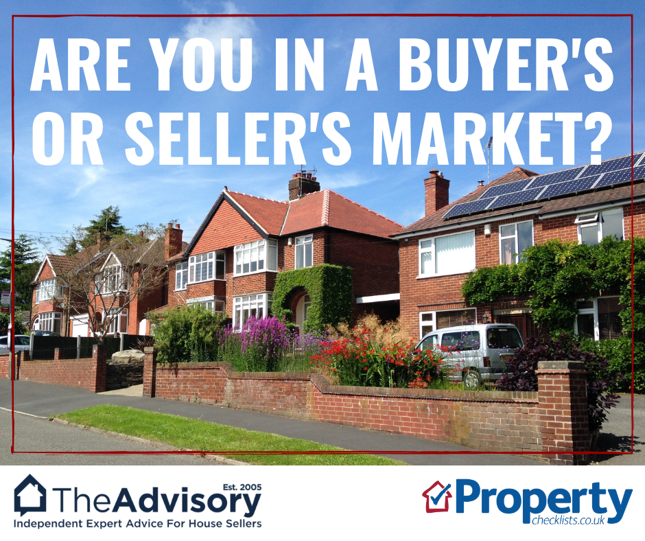 Are you in a buyer's or seller's market checklist
